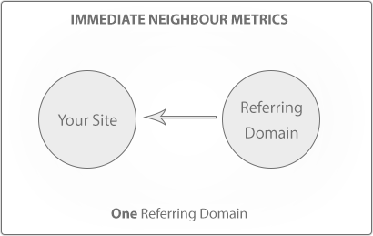 Illustration of Immediate Neighbour Metrics